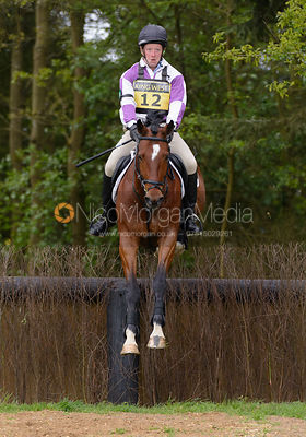 George Hilton-Jones and DARKER MAGICAL - Brigstock International Horse Trials, Rockingham Castle 2014