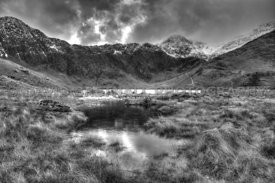 The Snowdon Horseshoe (Mono)