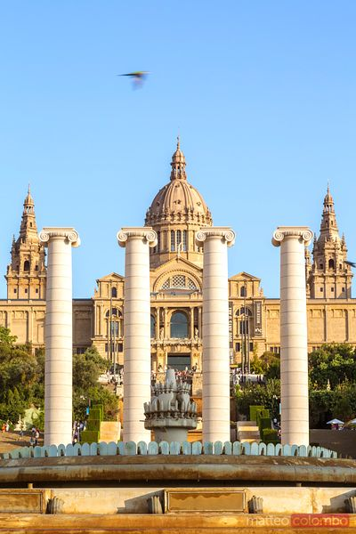National Art Museum of Catalonia, Montjuic, Barcelona, Spain