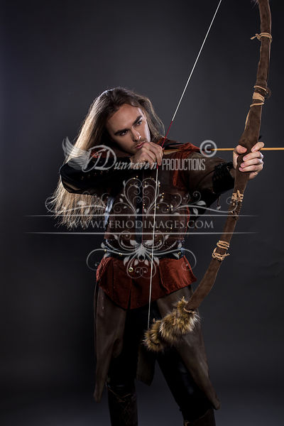 Medieval Man with Bow