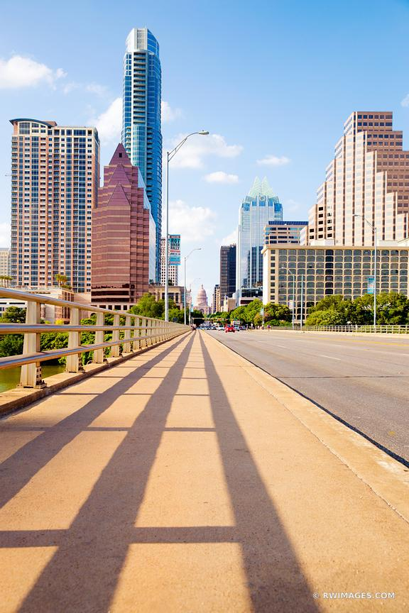 CONGRESS AVENUE BRIDGE DOWNTOWN AUSTIN TEXAS
