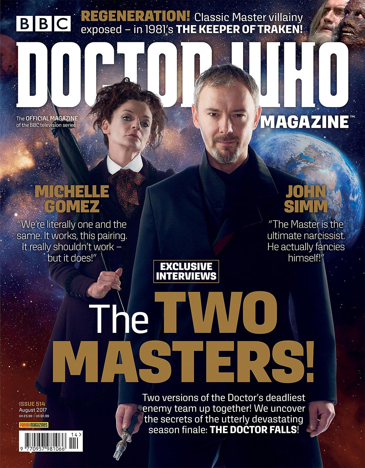Doctor Who Magazine Series 10,  TV publicity photographer