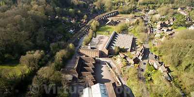 Coalbrookdale Museum of Iron (Panorama)