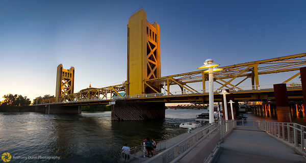 Sacramento River & Tower Bridge #9