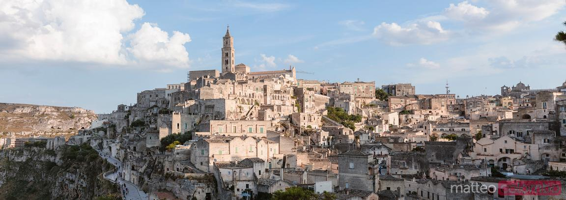 The famous Stones of Matera, Matera, Italy