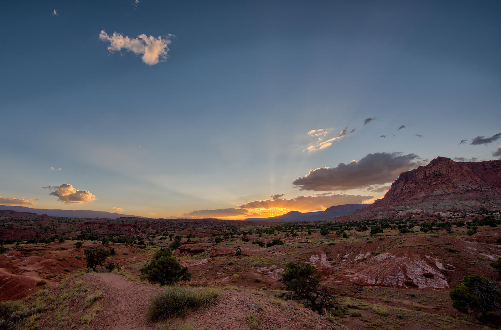Capitol Reef Sunset