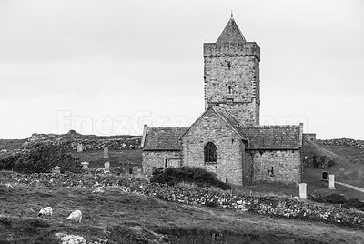 St Clement's church Harris island
