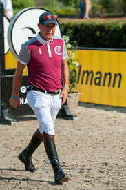 27/07/18, Berlin, Germany, Sport, Equestrian sport Global Jumping Berlin -   Image shows Michael Whitacker. Copyright: Thomas...
