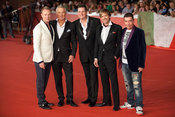 "Spandau Ballet at the red carpet event for ""Soul Boys of the Western World"" at the Rome International Film Festival. L to R. ..."