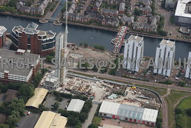 the Quays New construction of Apartments by Vermont Construction Salford Quays