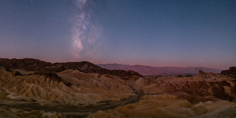 Nightly colours at Zabriskie Point (bis) - California