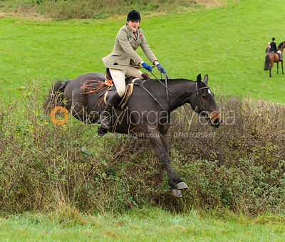 Ruth Atkinson - The Cottesmore Hunt at Tilton on the Hill, 9-11-13