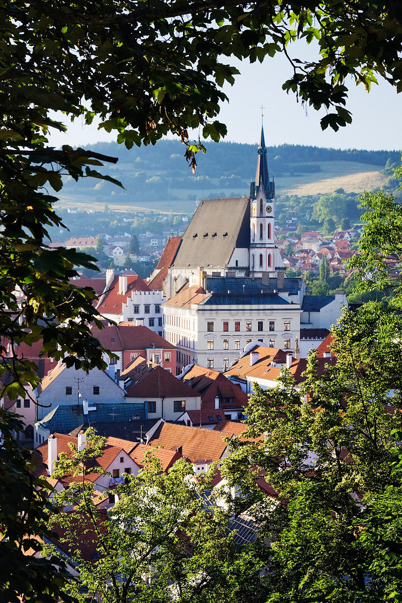 Cesky Krumlov, South Bohemian Region, Bohemia, Czech Republic