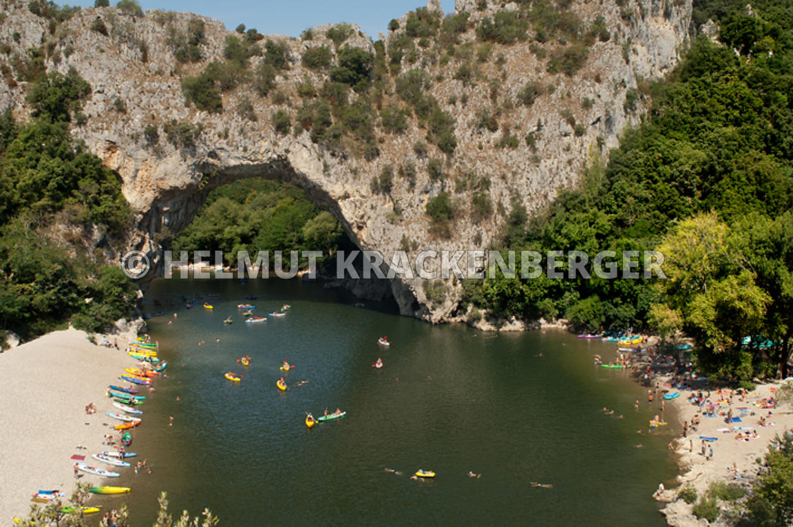 Helmut Krackenberger Photographe Le Pont D Arc