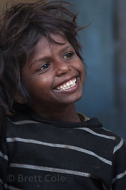 Street boy in Pushkar, Rajasthan, India