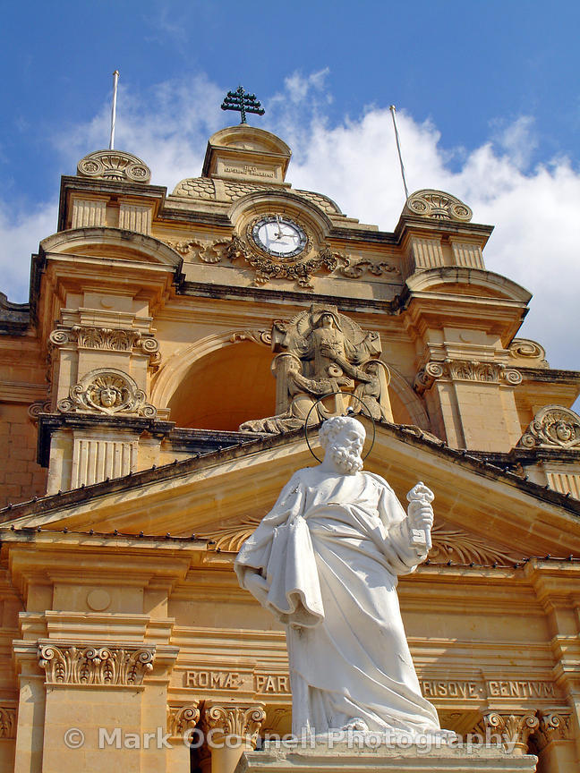 Nadur parish church Gozo