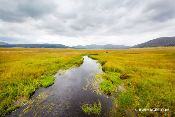 VALLES CALDERA NATIONAL PRESERVE NEW MEXICO LANDSCAPE