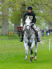 Johan Lundin and JOHNNY CASH - Cross Country phase, Mitsubishi Motors Badminton Horse Trials 2014