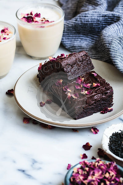 Earl grey brownies