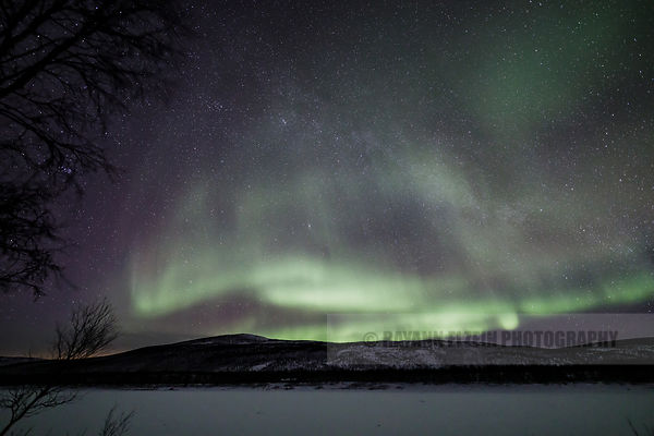 Northern Lights in Utsjoki, Finnish Lapland