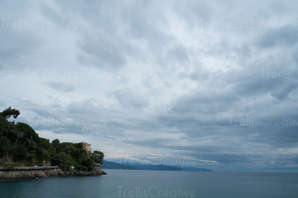 Ligurian Sea from the seaside town of Santa Margherita