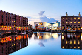 Liverpool Museum From The Albert Dock