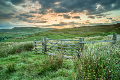 Before dawn on Little Howden Moor