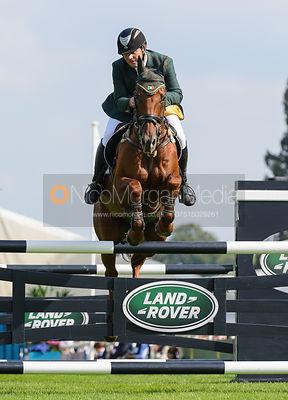 nico morgan media michael ryan and ballylynch adventure show jumping phase burghley horse
