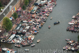 Amsterdam - Luchtfoto Canal Parade 23