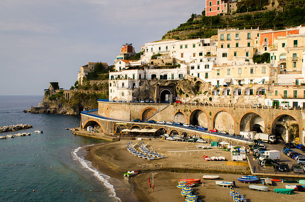 european motorcycle travel amalfi