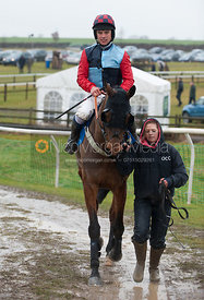 Sherriff Hutton (Oliver Grreenall) - Race 3 - Cottesmore Hunt Point to Point, Garthorpe 4/3/12