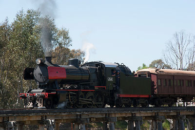 Steam engine J541