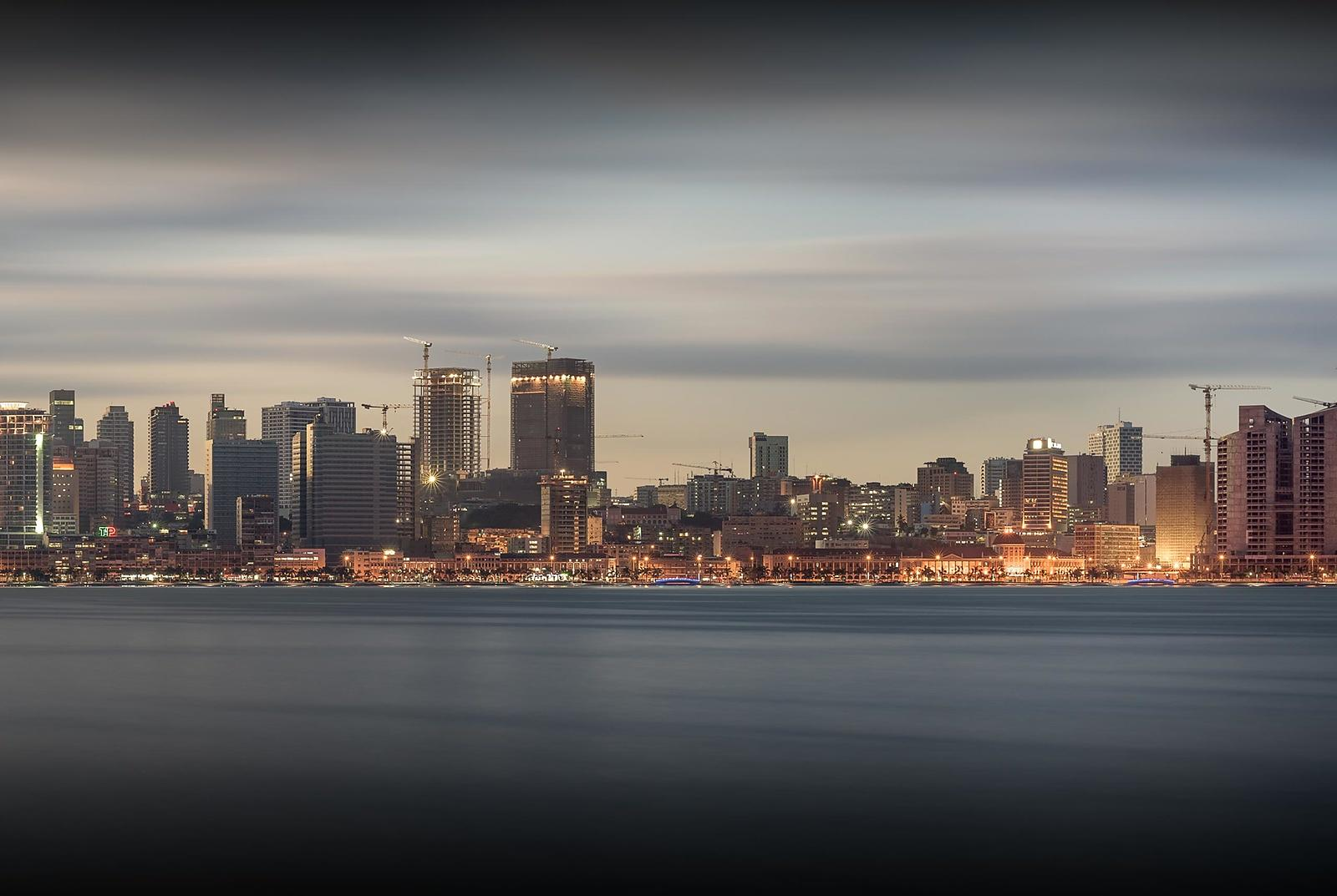Luanda as seen from the bay