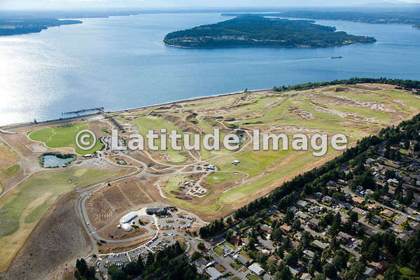 Chambers Bay from Above, by Andrew Buchanan