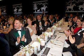 Galadinner Polo on Snow St.Moritz
