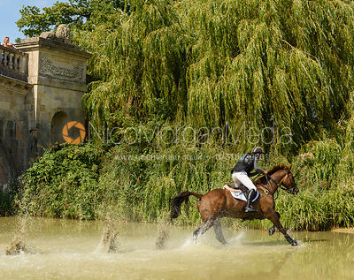 Tom Rowland and POSSIBLE MISSION, cross country phase, Land Rover Burghley Horse Trials 2018