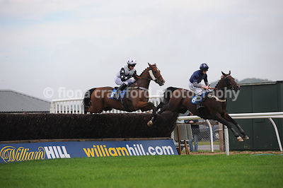 24th Sept 2013 - 4.50pm Handicap Steeple Chase with winner Sadlers Star