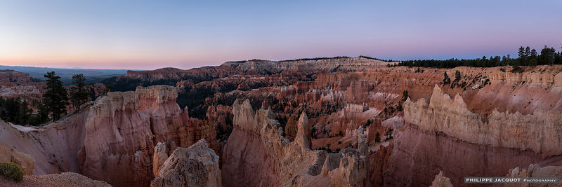Before the Sun in Brice Canyon - Utah