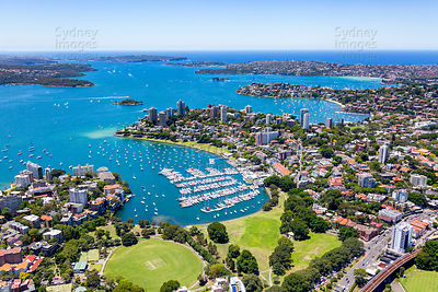 Elizabeth Bay Aerial Photography
