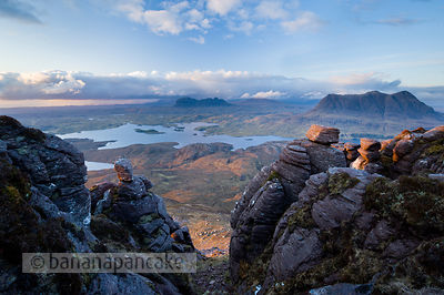 Suilven, Canisp and Cul Mor - BP3096