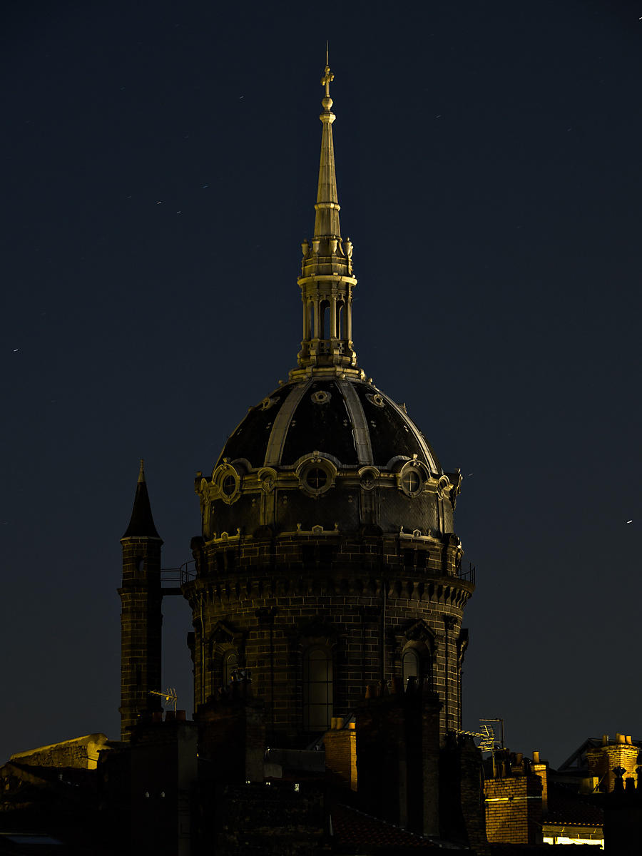 Saint Pierre des Minimes church dome, Clermont Ferrand