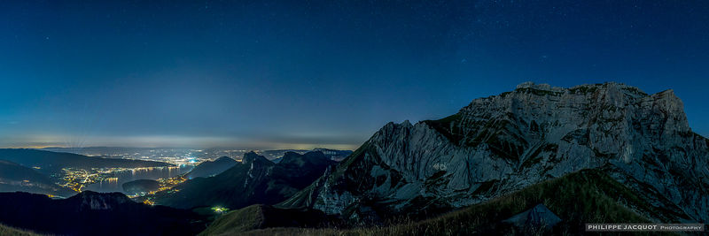 Milky Way Over the Tournette - Talloires