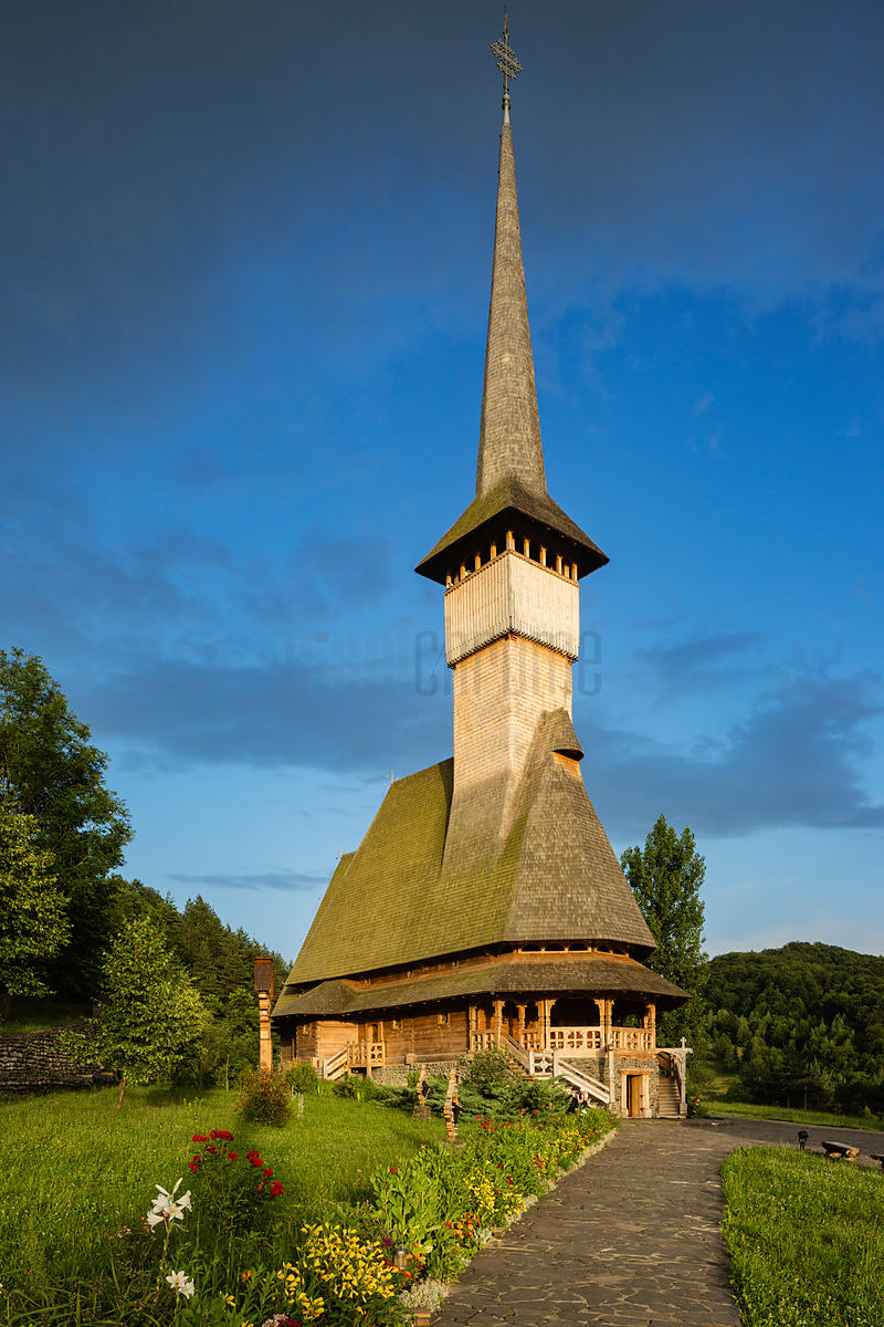 Wooden Churches and Orthdox Monastery of Barsana'