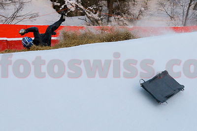Robert Allenspach Harjes Cartier Silver Chip at The Cresta Run of the SMTC Saint Moritz Tobogganing Club since 1884/85