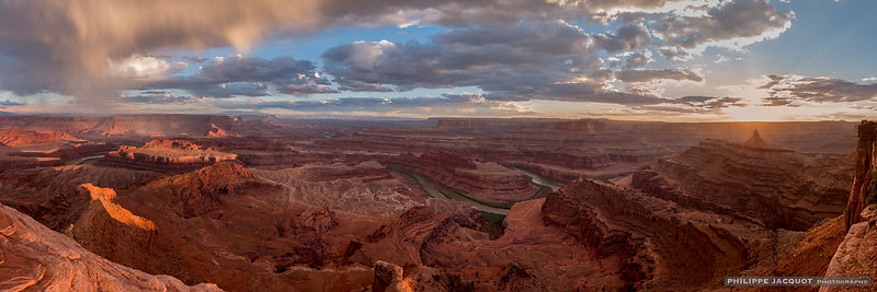 Sunset at Dead Horse Point - Utah