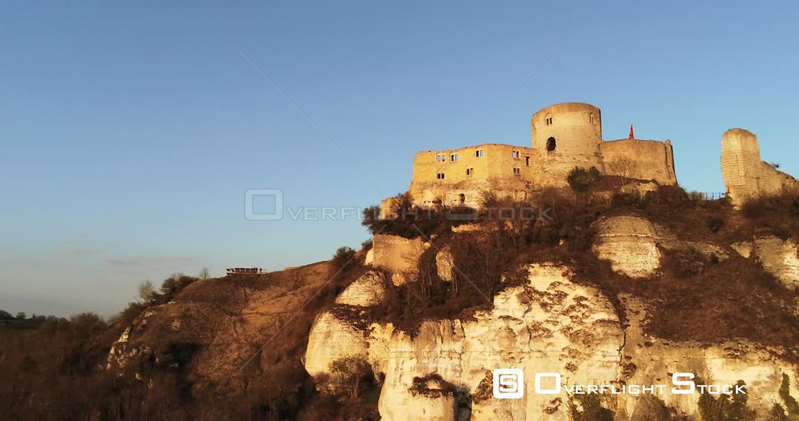 Drone Video Chateau Gaillard Les Andelys France