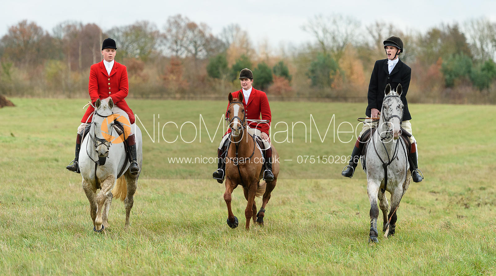 The Holderness Hunt visit The Essex and Suffolk