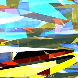 ABSTRACT Hard Edged Tower # 36