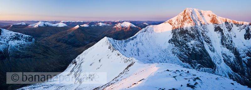 BP2924 - North Face of Ben Nevis from the Carn Mor Dearg arête