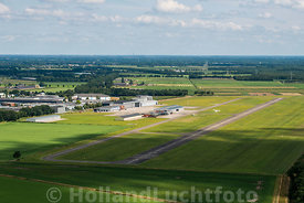 Budel - Luchtfoto Kempen Airport